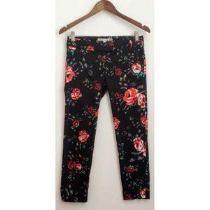 💰3/20$💰DYNAMITE crop floral straight leg pants